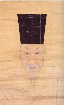 보물 제1495호 윤증 초상 일괄(소상정면)