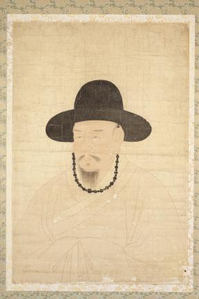 보물 제1497호 김시습 초상