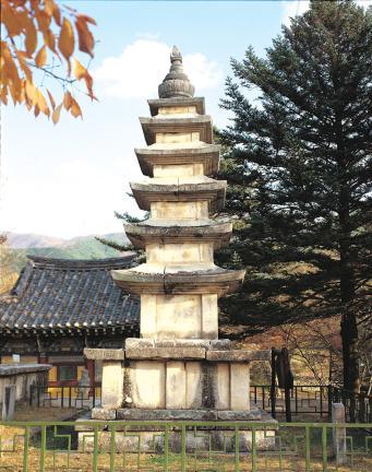 김제 금산사 오층석탑