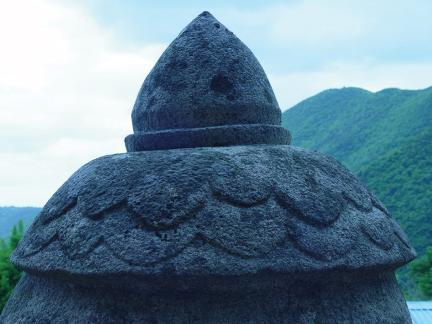 불사리탑 상부 보주형 장식