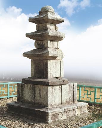 나주 북망문 밖 삼층석탑