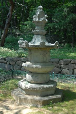 구례 연곡사 소요대사탑