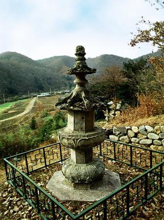 장흥 보림사 동 승탑