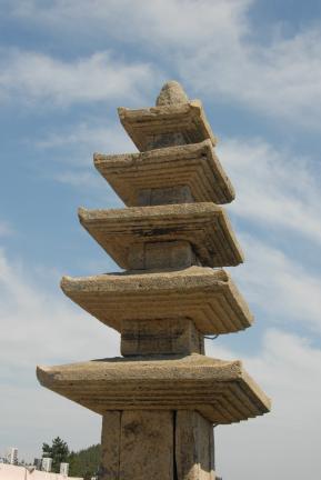 진도금골산오층석탑