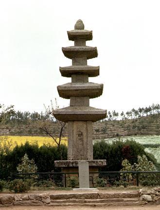 금골산오층석탑