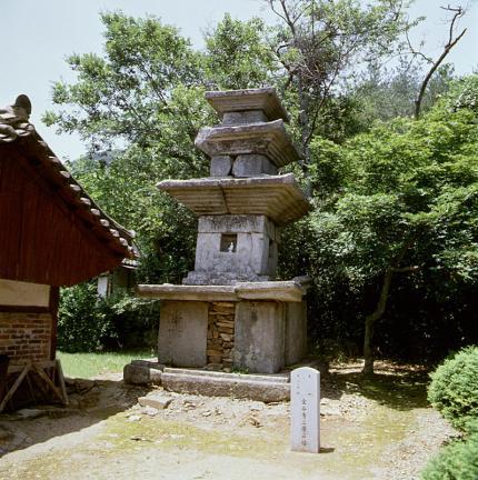 금곡사삼층석탑