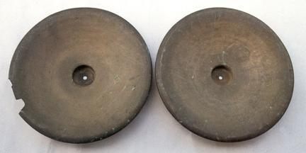 곡성 태안사 청동 대바라(안쪽)