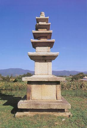 성풍사지오층석탑