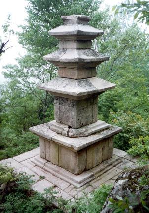 월출산용암사지삼층석탑