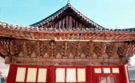 선암사 대웅전 측면건물