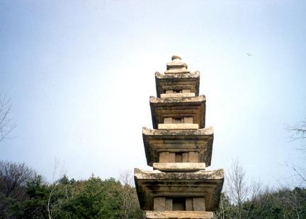 곡성가곡리오층석탑(탑신부)