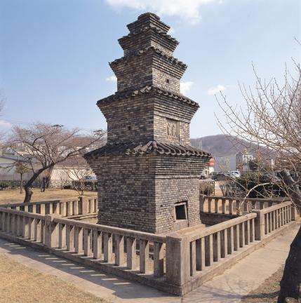 안동 운흥동 오층전탑