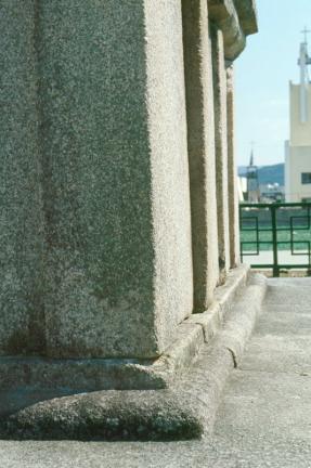 청도봉기동삼층석탑(기단부)