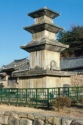 상주화달리삼층석탑