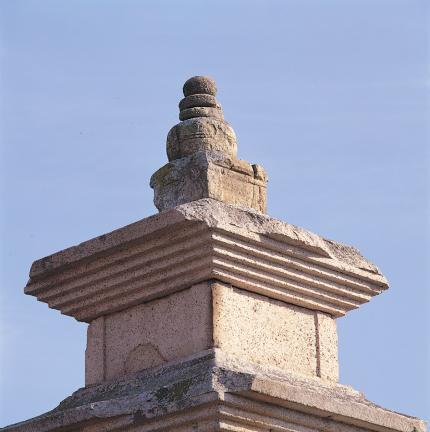 서탑 상륜부