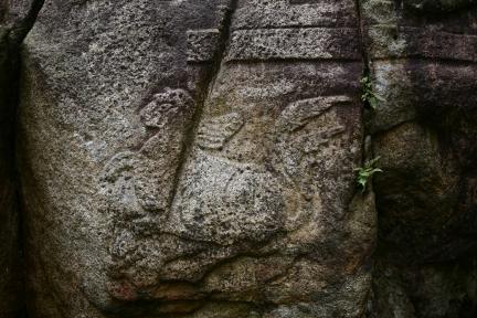 북면 사자상