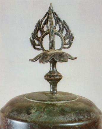 청도 운문사 동호(淸道 雲門寺 銅壺)의 뚜껑