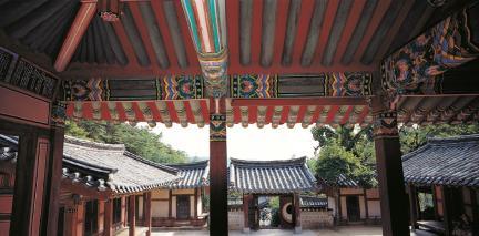 도산서원 전교당 내부1