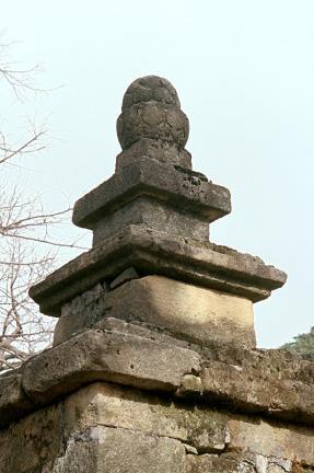 구미 도리사 석탑(상륜부)