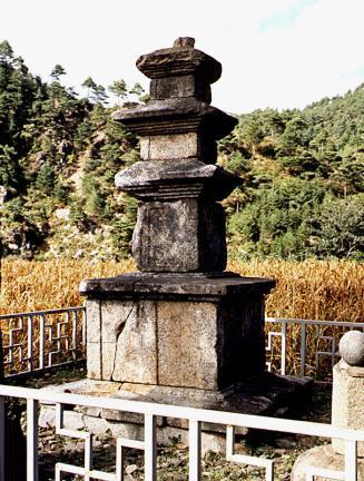 울진 구산리 삼층석탑