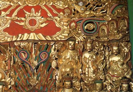 문경 대승사 목각아미타여래설법상 및 관계문서(聞慶 大乘寺 木刻阿彌陀如來說法像 및 關係文書)