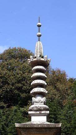 문경 도천사지 삼층석탑 상륜부