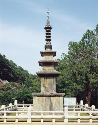 문경 도천사지 삼층석탑