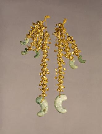 경주 황남동 금제 드리개(慶州 皇南洞 金製垂飾)