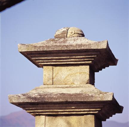 동탑 탑신 및 상륜부