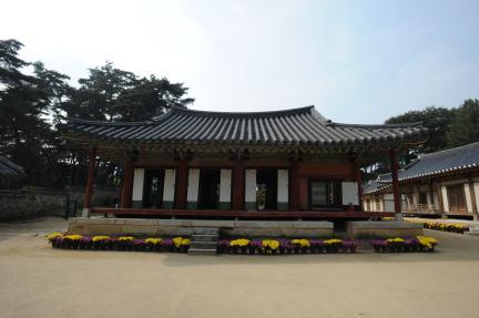 영주 소수서원 강학당