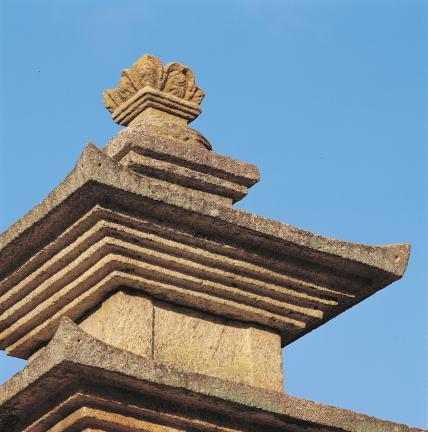 탑신부 옥개석 및 상륜부