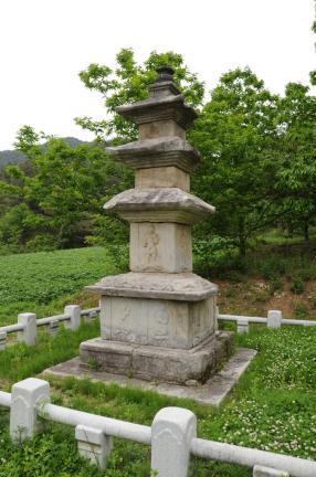 함양 승안사지 삼층석탑 (촬영:문화재청)