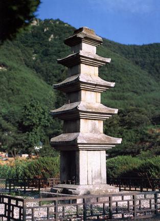 밀양 소태리 오층석탑