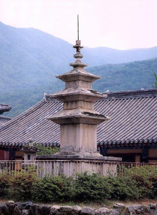 밀양 표충사 삼층석탑