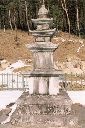 함양 벽송사 삼층석탑