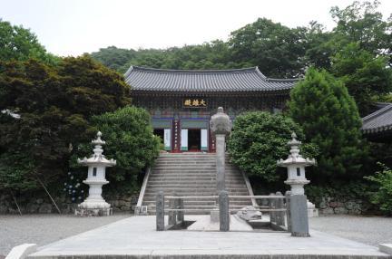 하동 쌍계사 대웅전 (촬영:문화재청)