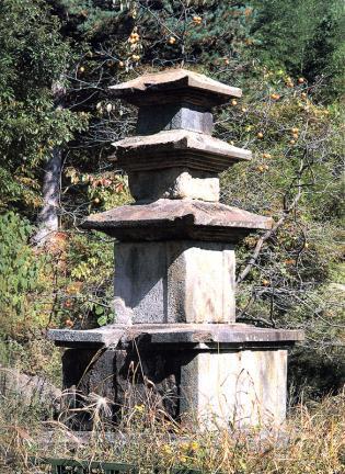 산청 대포리 삼층석탑