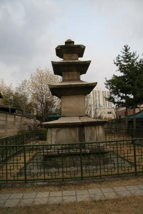 안동 평화동 삼층석탑