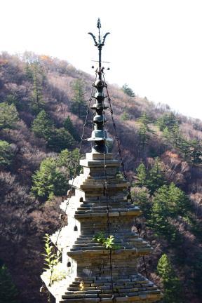 수마노탑 상륜부