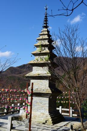 수마노탑 전경