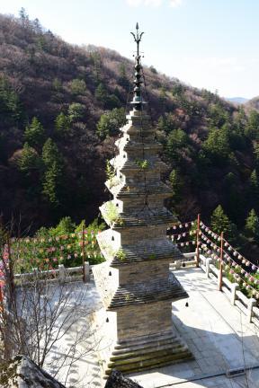 수마노탑 측면