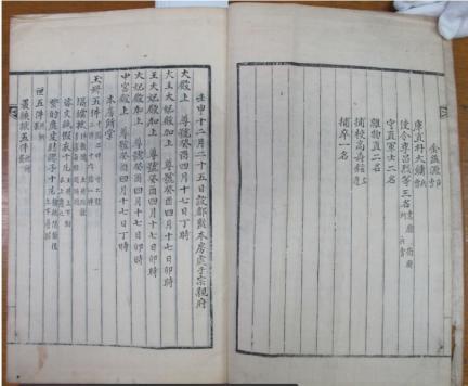 보물 제1901-12호 조선왕조의궤
