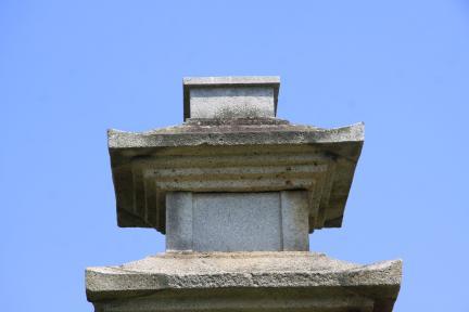 경주 미탄사지 삼층석탑 상륜부