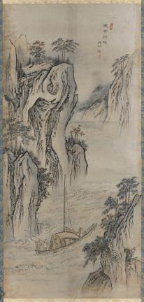 보물 제1971호 김홍도 필 고사인물도(무이귀도)