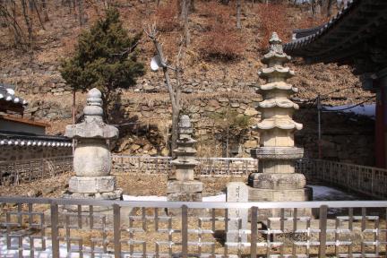 남양주 수종사 사리탑 전경