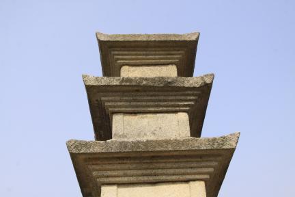 보령 성주사지 동 삼층석탑 세부사진 1