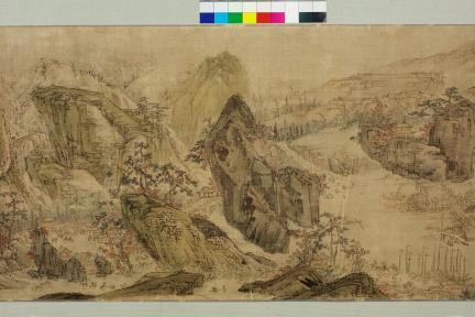 보물 제2029호 이인문 필 강산무진도(중반부)
