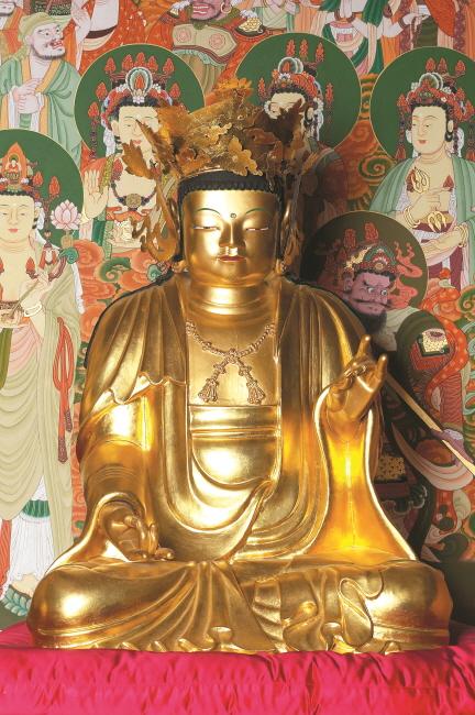 보물 제1751호 서천 봉서사 목조아미타여래삼존좌상(2012년 국보,보물 지정보고서)