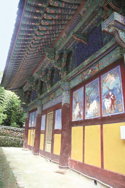 보물 제1771호 기장 장안사 대웅전(2012년 국보,보물 지정보고서)