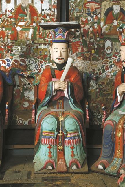 보물 제1786호 강화 전등사 목조지장보살삼존상 및 시왕상 일괄(2012년 국보,보물 지정보고서)
